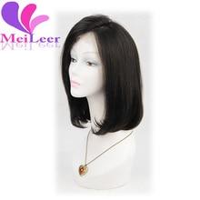 Brazilian Human Hair Bob Wigs For Black Women Hair Lace Front Wig Bob Style 130% Density Glueless Bob Full Lace Wigs Cheap