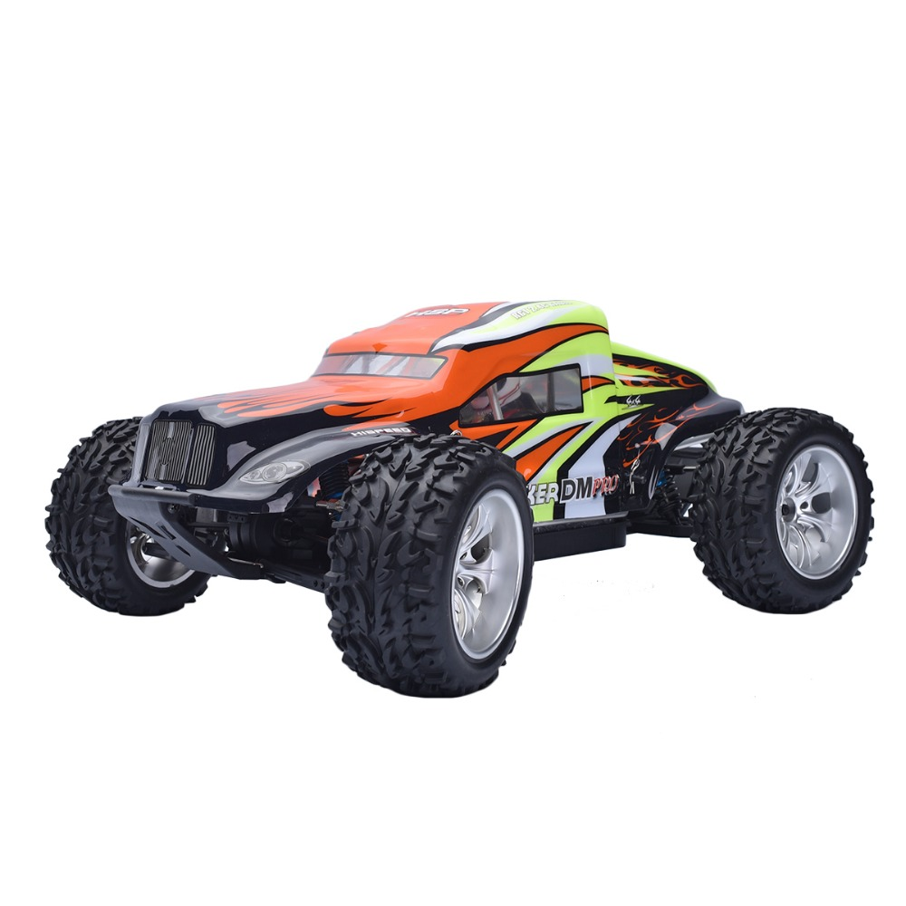 HSP 94204 PRO Rc speed Car 1/10 Scale 4wd Off Road Monster Truck 2.4ghz Brushless Motor Sand Remote Control vehicle gift 02023 clutch bell double gears 19t 24t for rc hsp 1 10th 4wd on road off road car truck silver