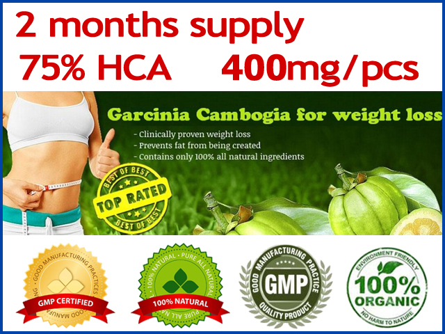 Garcinia cambogia weight loss diet supplement Burn Fat ( 75% HCA ) Garcinia cambogia Slimming (200 Caps for 2 months supply!)