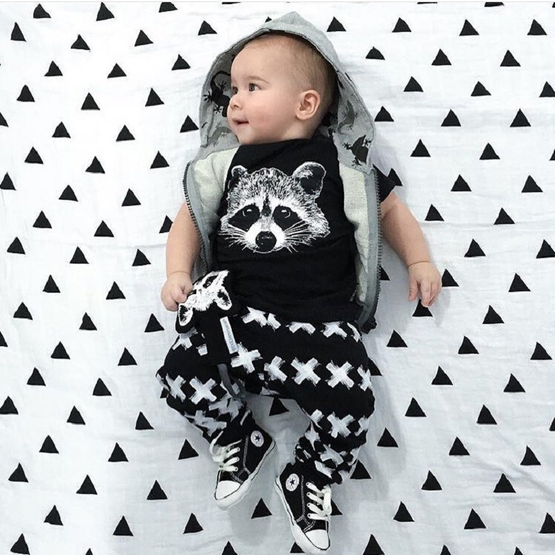 89a405debd2 New Summer Baby Boy Clothes Kids Clothes Sets T-shirt+Pants Suit Clothing  Set Cartoon Printed Clothes Newborn Sport Suits ~ Best Deal May 2019