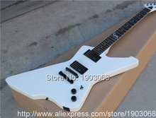 2016 white ESP snakebyte james hetfield signature electric guitar with Rosewood fretboard ESP Snake explorer(China)