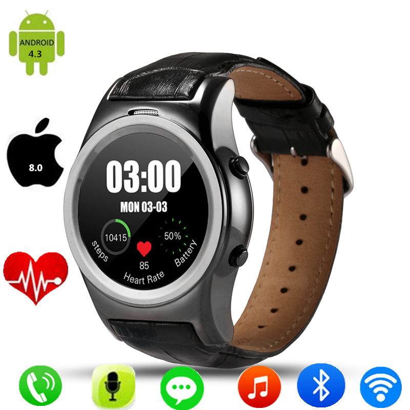 2017 fashion clock a8s smart watch wearable devices. Black Bedroom Furniture Sets. Home Design Ideas