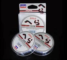 FPHWYP Fishing Line 100% Brand Super Strong Japanese 100m Nylon Transparent or Fluorocarbon Fishing Line Fishing Tackle