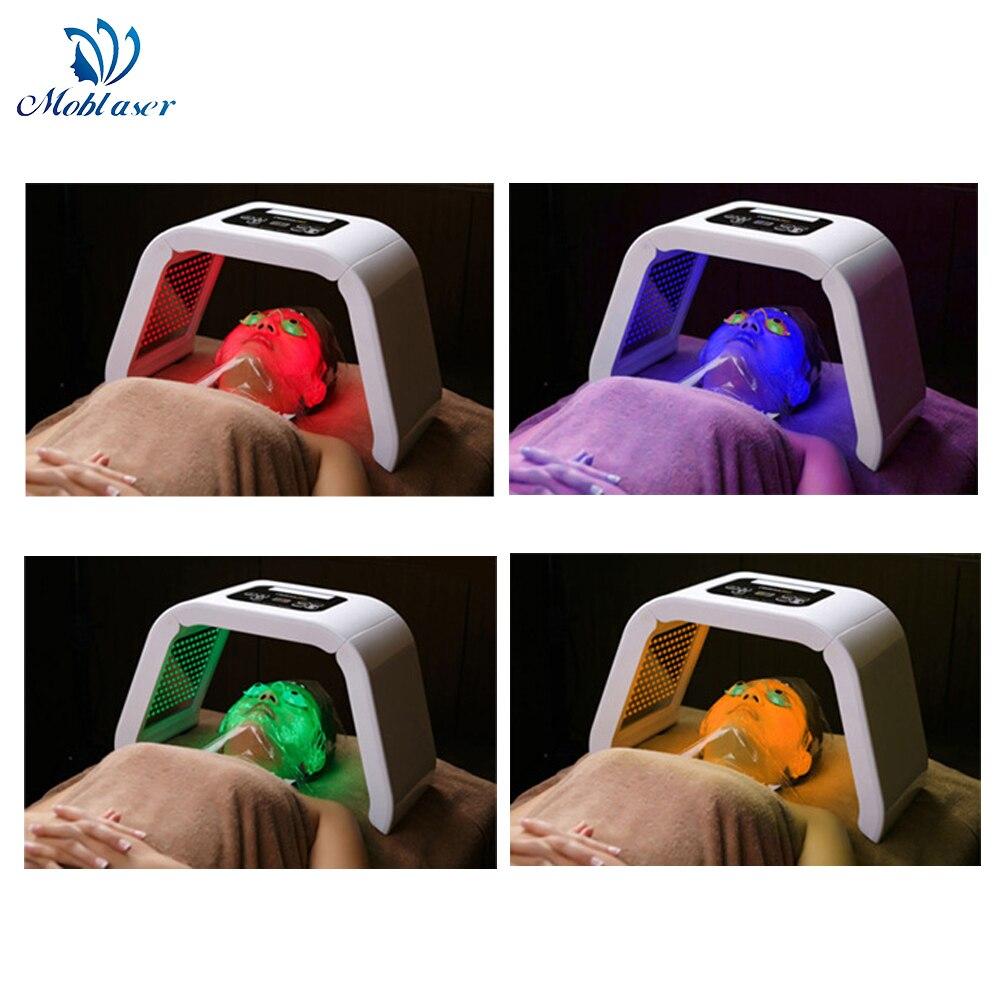Dispositif de rajeunissement de la peau par Photon Pdt pour le visage à masque LED