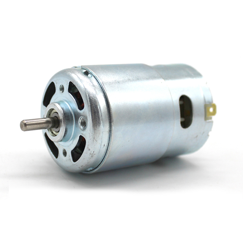Micro 895 Motor DC12-24V High Power Generator 10A 5000-10000rpm Double Ball Bearing 775 Upgrade DC Motor Large TorqueMicro 895 Motor DC12-24V High Power Generator 10A 5000-10000rpm Double Ball Bearing 775 Upgrade DC Motor Large Torque
