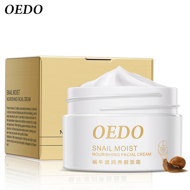 Anti Wrinkle Anti Aging Snail Moist Nourishing Facial Cream Cream Imported Raw Materials Skin Care Wrinkle Firming Snail Care 5