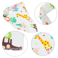 10 Pcs High Quality Newborn Baby Waterproof Feeding Bibs Cotton Triangle Children Feeding Accessories Bandana Bibs