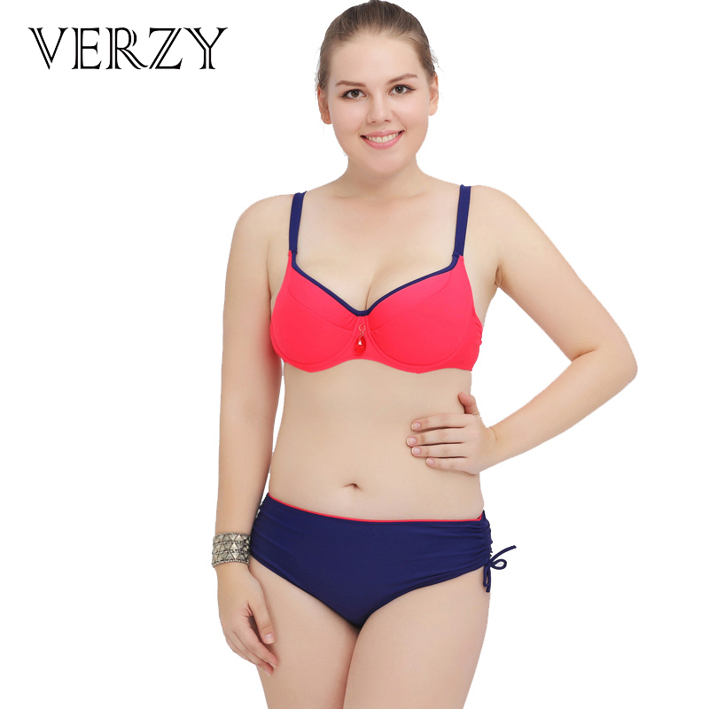 2017 New Arrivals Solid Women Bikini Sets Plus Large Size Push Up Triangle Bottom Swimwear Buckle Female Bathing Suit Biquini adidas купальник solid triangle bikini