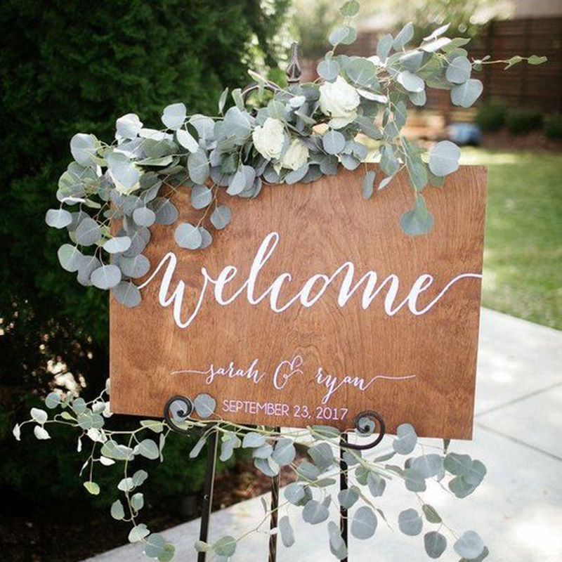 2m Artificial Eucalyptus Vine Green Leaves Wedding Decoration Fake Flowers Branch Artificial Plants Flower Garland Party Decor