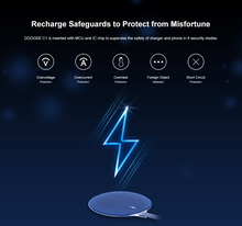 DOOGEE C1 10W Wireless Fast Charger for S60