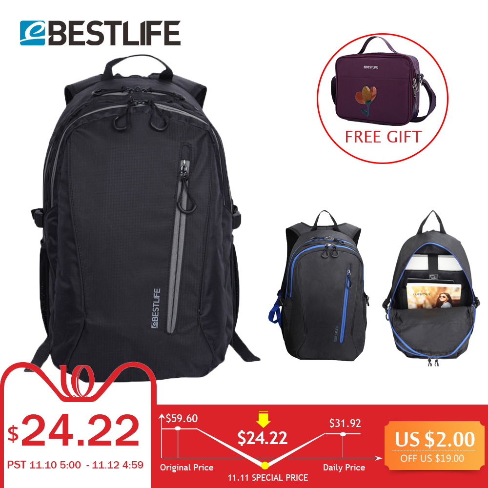 BESTLIFE Large Capacity light weight Bags Nylon bagpack Urban travel Backpack 15.6 Laptop Bag school bags for teenagers bestlife large capacity light weight bags nylon bagpack urban travel backpack 15 6 laptop bag school bags for teenagers