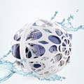 White Laundry Wash Ball Bubble Machine Laundry Protection Bra & Underwear Washing Ball