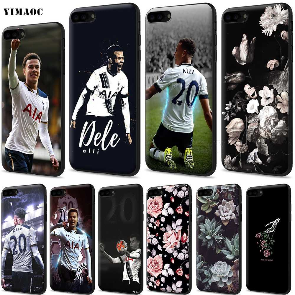 the latest 58af0 9f88d Detail Feedback Questions about YIMAOC Dele Alli Silicone Soft Case ...