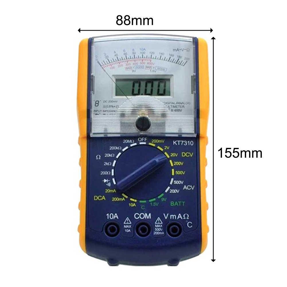 KT7310 Pointer Digital Display Analog Multimeter Voltage Current Precise Tester Set