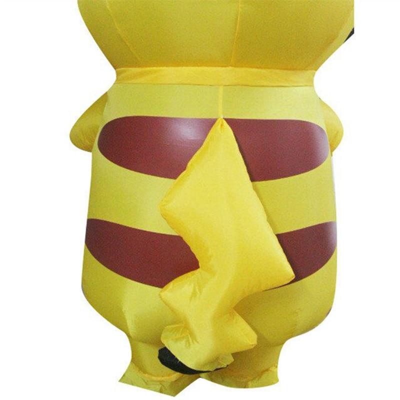 Nieuwste Pikachu Kostuum Leuke Halloween Kostuums Voor Volwassen - Carnavalskostuums - Foto 4