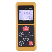 Big sale Laser Range Finder 100m 328ft Laser Distance Meter Measurer CP-100C Laser Range Finder Laser Measure Area/Volume Tool