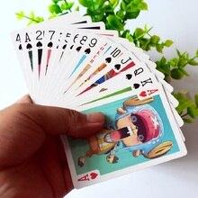 54 шт./компл. одна деталь коллекция обезьяна Д. Луффи покер и Roronoa Зоро коллекция игральных карт карты детские игрушки подарок
