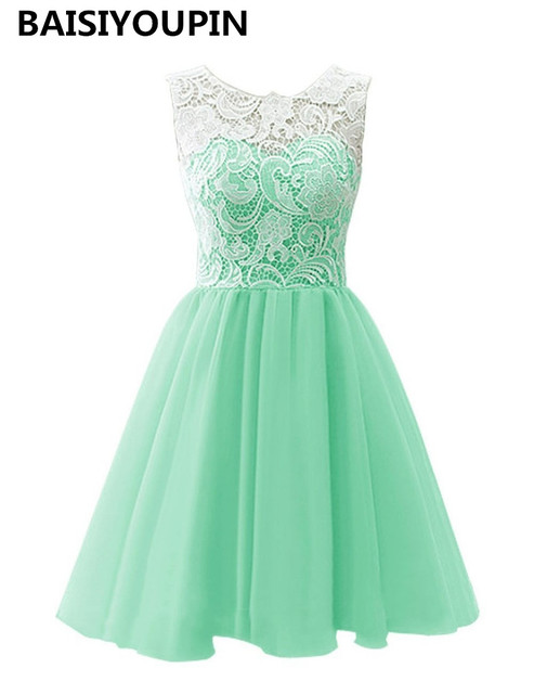 7b7e3f2e9 Elegante Vestidos para adolescentes 2019 Vestidos De Baile Curto Cap manga  de fiesta Vestido corto vestido