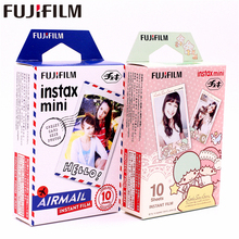 лучшая цена Fujifilm 20 sheets Instax Airmail+Little Twin Stars Instant Film photo paper for Instax Mini 8 7s 25 50s 90 9 SP-1 SP-2 Camera