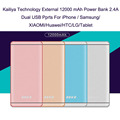 Kailiya Technology 12000 mAh Power Bank Mobile Battery Charger Double USB For iPhone 5s 6 6S/Samsung/XIAOMI/Huawei/HTC/LG/Tablet