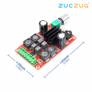 Image 2 - TPA3116D2 2x50W Digital Power Amplifier Board 5V To 24V Dual Channel Stereo AMP