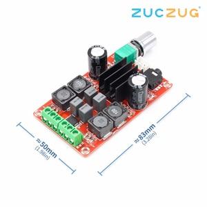 Image 2 - Tpa3116d2 2x50w placa amplificador de potência digital 5v a 24v duplo canal estéreo amp