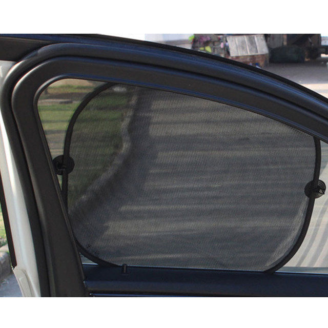 5Pcs 3D Photocatalyst Mesh Sun Visor Window Screen Sunshade Car Curtain Car Cover Sunshade Car interior Product With Two Sucker