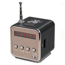 Td-v26 mini speaker портативный цифровой жк-дисплей звук micro sd/TF Fm-радио Музыка Стерео Громкоговоритель для Ноутбуков Мобильных Телефонов MP3