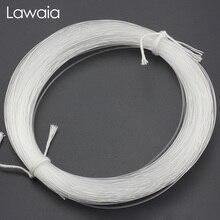 Lawaia Monofilament Fishing Line 100m Transparent Plastic Thread Super Thick Nylon Hand Lines Tools