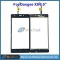 """Top quality 5.0 """"para doogee x5 x5 pro x5s digitador da tela de toque frontal de vidro substituição do painel sensor de cor preta"""