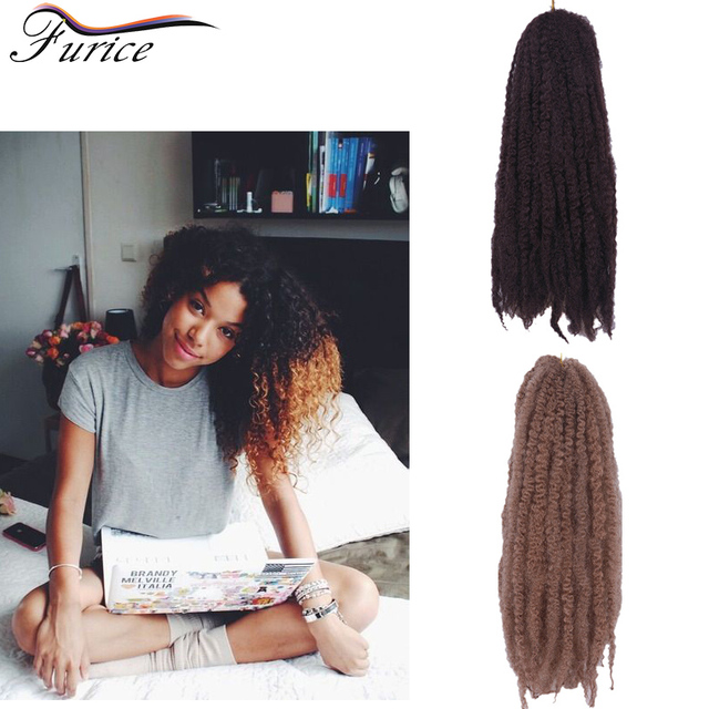 New Arrive Marley Hair Extensions Afro Kinky Curly Crochet Twists