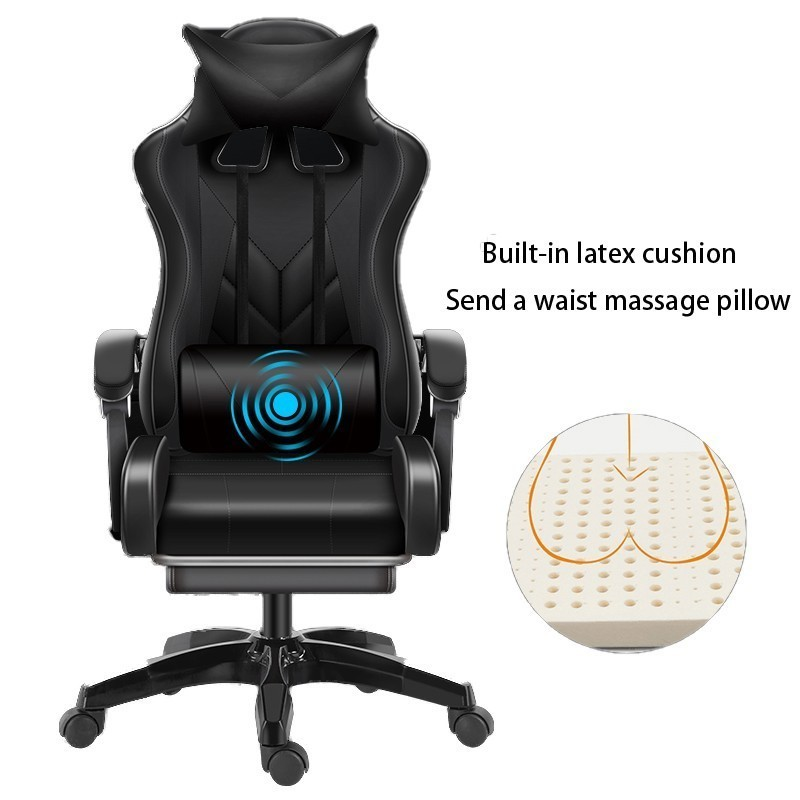 High Quality Esports Poltrona Boss Silla Gamer Office Gaming Chair Can Lie Massage Synthetic Leather With Footrest Ergonomics