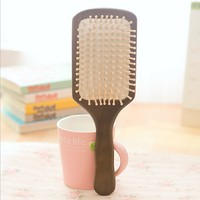 High Quality Birch Massage Big Board Care Comb Hair Anti Static Gas Solid Wooden Comb Wood