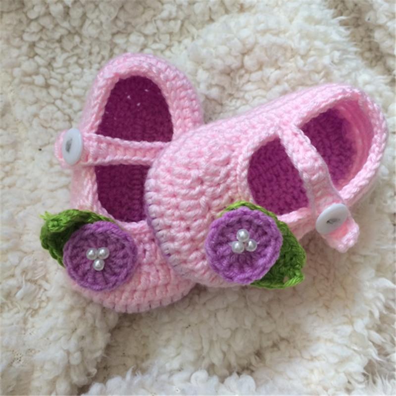 Qyflyxue-bebé Zapatos, ganchillo Zapatos de bebé, bebé del ganchillo ...