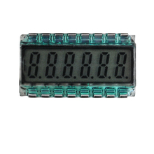16PIN TN Positive 6 Digits Segment LCD Panel 3.3V Without Backlight Digital Tube Display