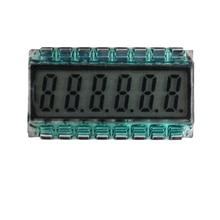 16PIN TN Positivo 6 Cifre Segmento LCD Pannello 3.3V Senza Retroilluminazione Del Display Digitale Del Tubo