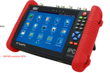 Frees shiping New Product Pro Security 2 in 1 CVBS IPC CCTV TESTER 7INCH IPC Touch Screen Camera Video PTZ Tester