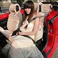 Дней шелк ремень безопасности автомобиля ремень безопасности обложка для защиты кожаный ремень безопасности плечо колодки