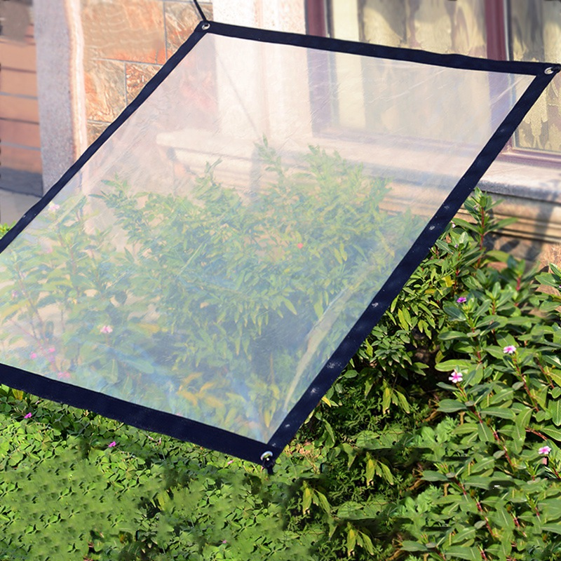 Greenhouses Outdoor Garden Sun Shade Sail Cloth Thick Transparent Rainproof Cold-proof Thermal Succulent Plant Greenhouse Cover