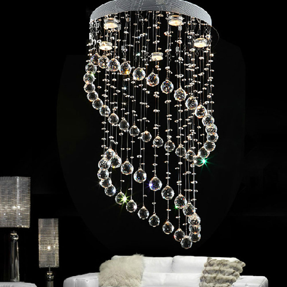 Round Simple Living Room LED Ceiling Crystal Light Modern Bedroom Light Creative Fashion Hanging Lamps Restaurant Light цена