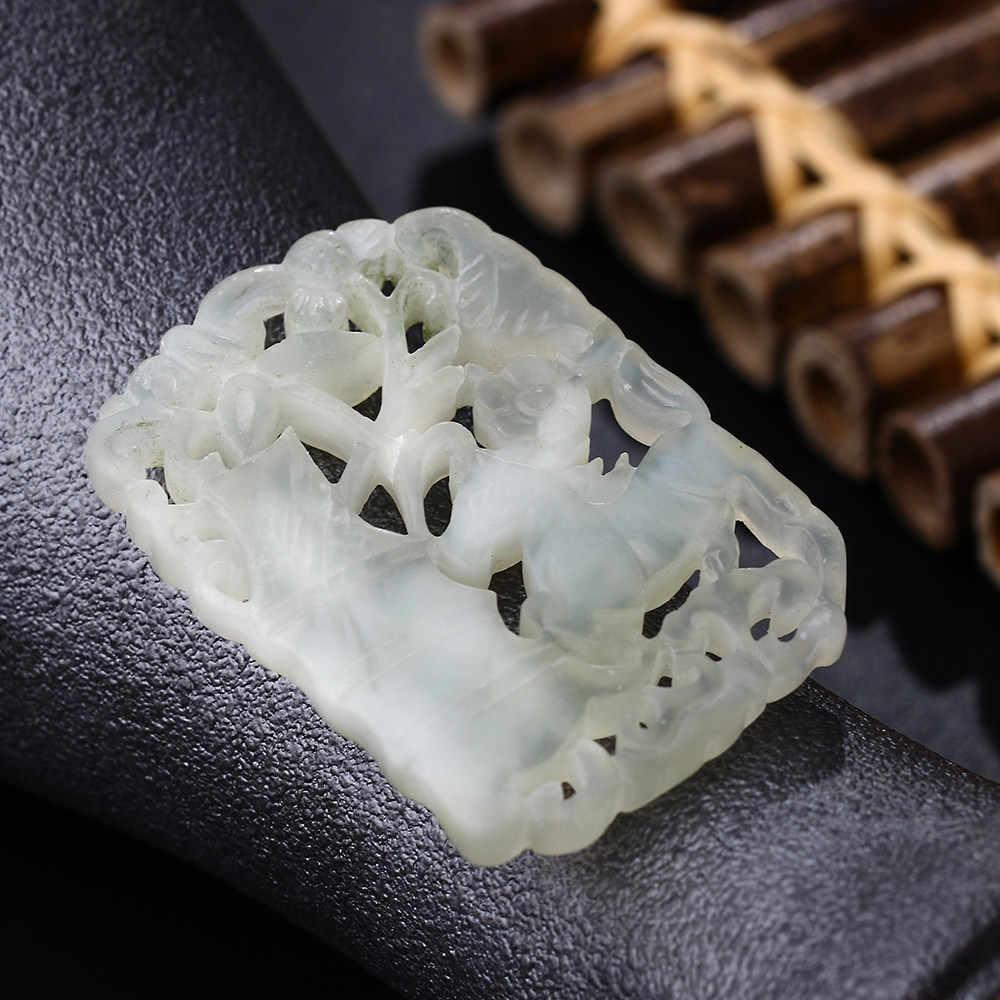 Yumten Chalcedony พระพุทธรูปจี้สร้อยคอแฟชั่นเครื่องประดับ Hollow แกะสลัก High End Process อุปกรณ์เสริม Gargantilha