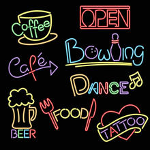 Outdoor font b advertising b font font b LED b font neon Pub sign light decoration