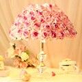 Casamento romântico rosas de presente de casamento candeeiro de mesa quarto lâmpada de cabeceira lâmpada criativa presente do estilo pastoral quente princesa roo