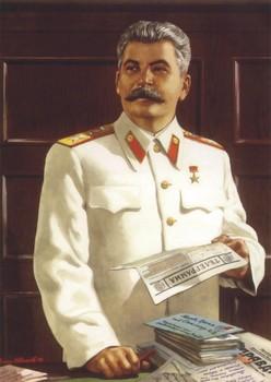 Special offer # TOP art - soviet Russia leader Joseph Vissarionovich Stalin portrait print art painting on canvas GOOD Quality