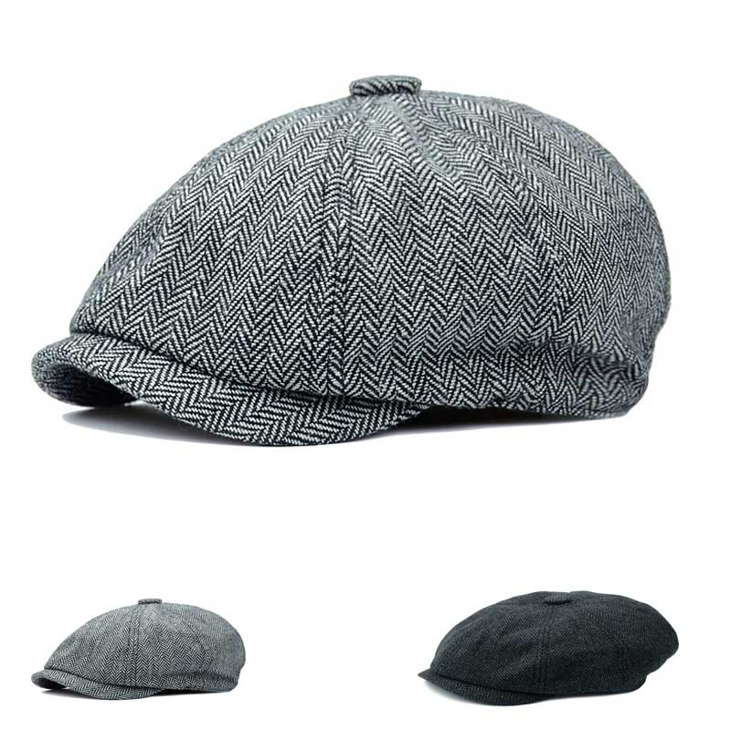 Simoner 7th Special Forces Group Warm Stretchy Solid Daily Skull Cap,Knit Wool Beanie Hat Black