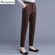 Zipper Autumn Pants Length