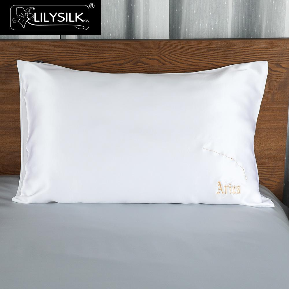 Lilysilk Silk Pillowcase Pure Natural 100 For Hair Zipper