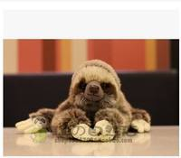Free Shipping NEW CUDDLY CRITTERS THREE TOED SLOTH PLUSH TOYSCM 27cm SOFT TOY TEDDY