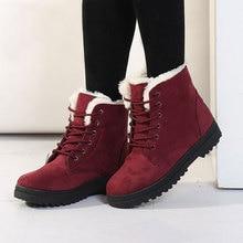 Frauen Stiefel 2017 Winter Stiefel Frauen Warme Pelz Stiefeletten Für Frauen Warme Winterschuhe Botas Mujer bota feminina