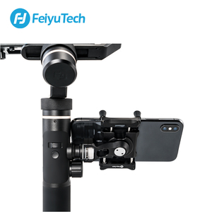 Image 5 - FeiyuTech Feiyu Smartphone מתאם טלפון הר עבור G6 G6 בתוספת SPG 2 סוגר קליפ קלאמפ מחזיק עבור פעולה CameraGimbal